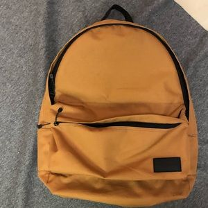 Quicksilver backpack. Gold.